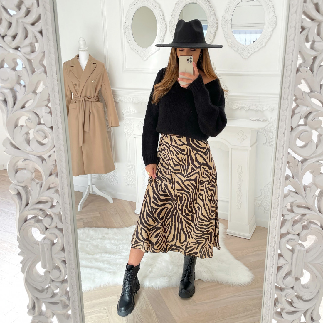 STYLE BY HASSYBA ** JUPE ZEBRE